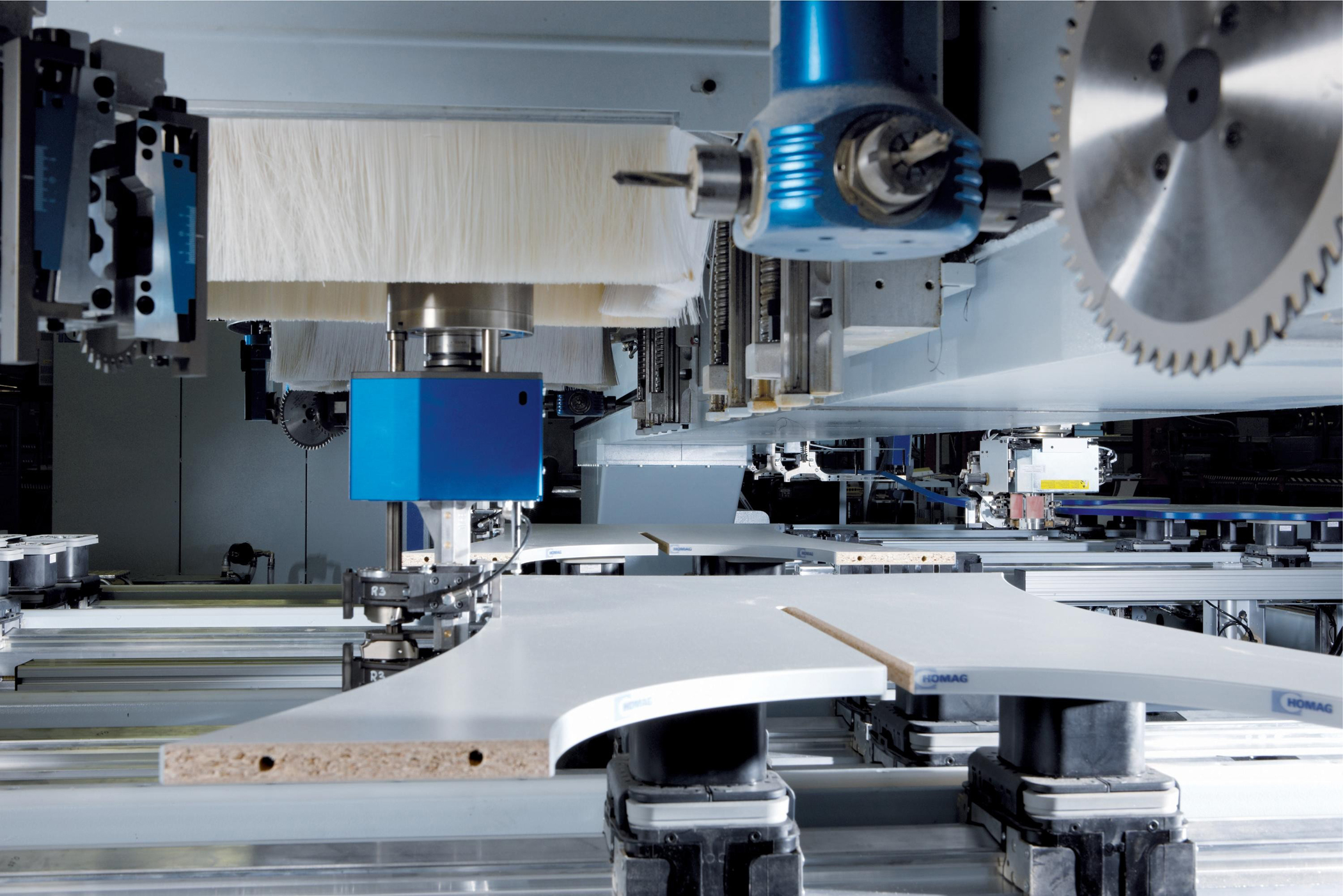Homag and Weeke – CNC Technology for the 21st Century | Furniture Production Magazine