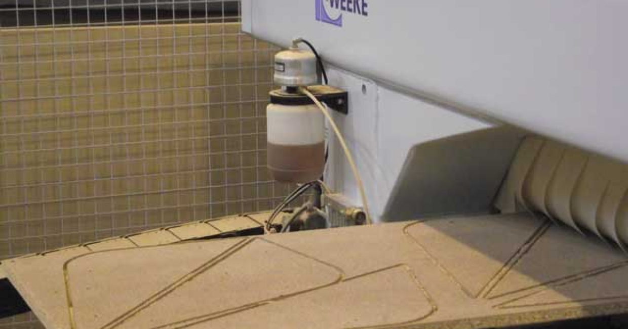 Weeke CNC router