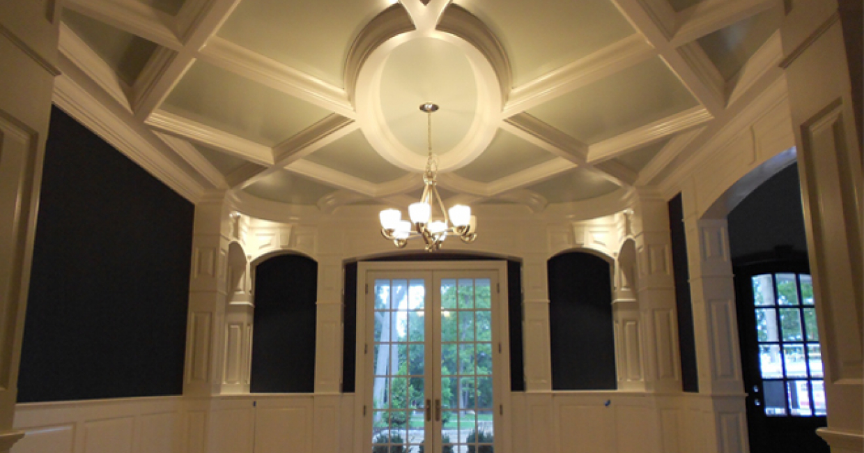 ArtCAM Pro enabled ICM to build this ceiling after the project had been turned down by other cabinet shops