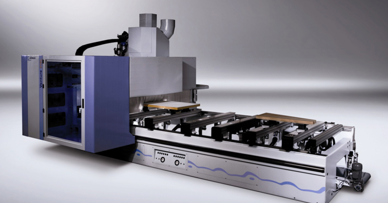 Affordable five-axis technology from the Homag Venture 316