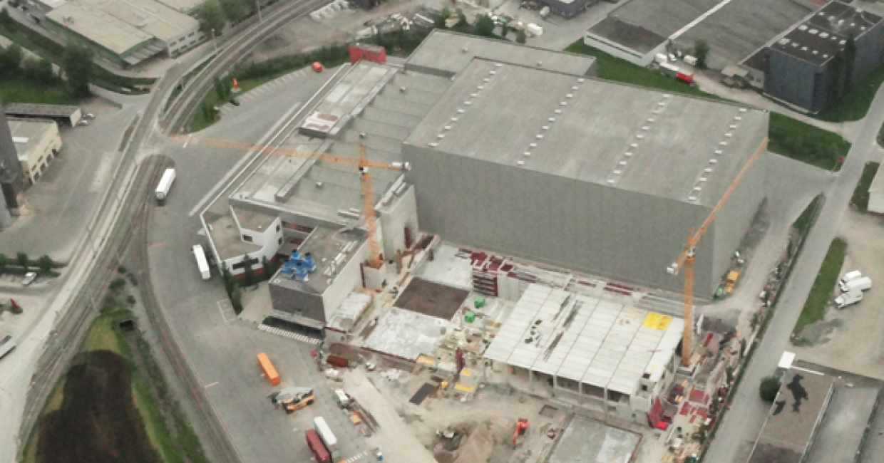 Extension of Plant 7 in Dornbirn in May 2013