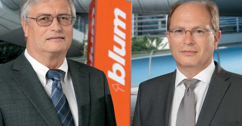 The Blum management: Herbert and Gerhard E Blum