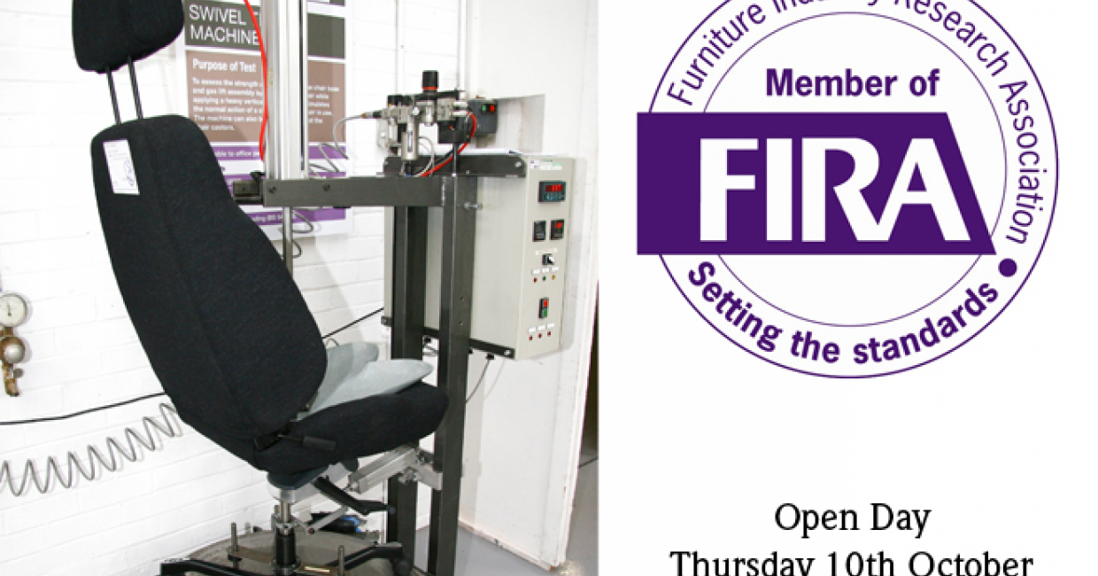 The FIRA open day will be held on 10th October, with a chance to see a range of services and meet with the experts