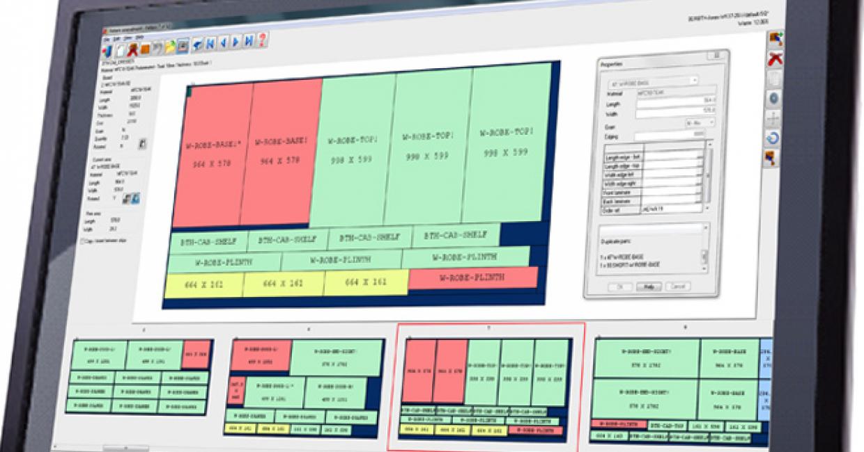 'Pattern Editor' view in Magi-Cut