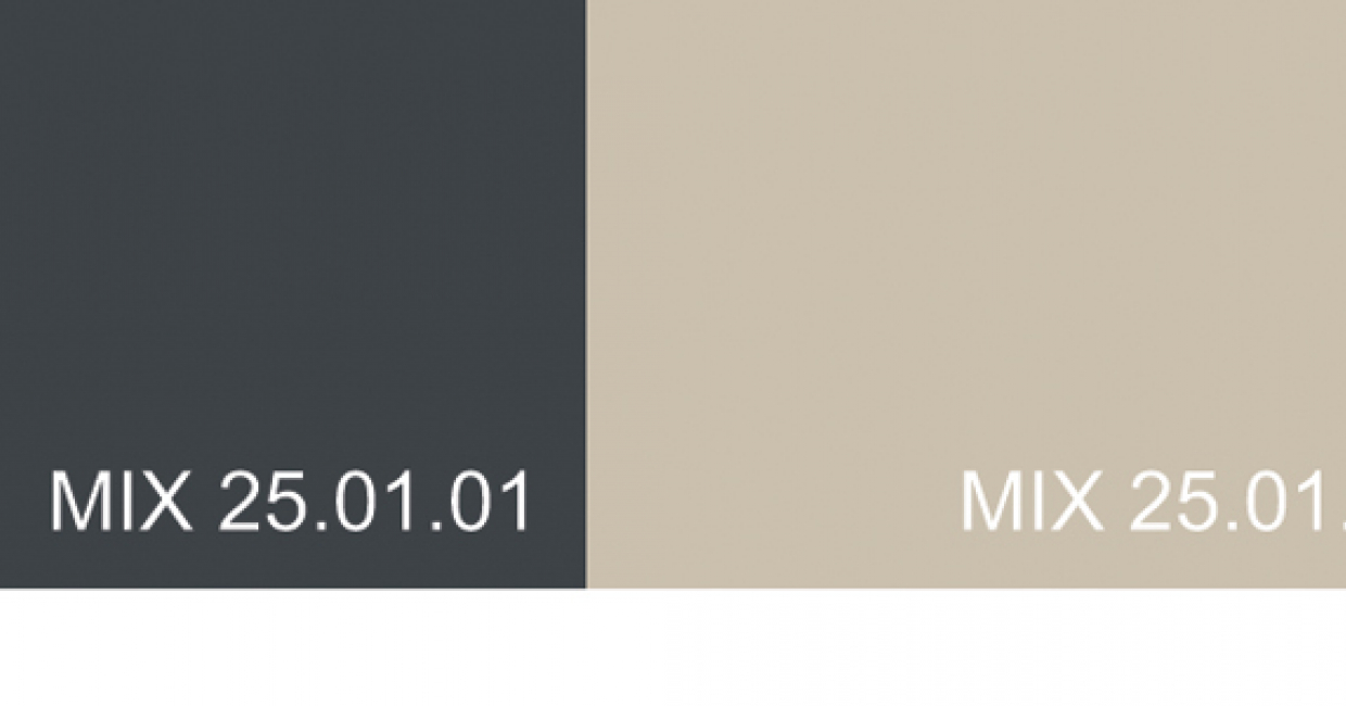 Here is the colour breakdown for this month's colour bar. The colours here are printed in CMYK – please refer to the original standards for exact colour references, found in Mix Trends 25. Contact Global Color Research for further details at www.globalcolor.co.uk