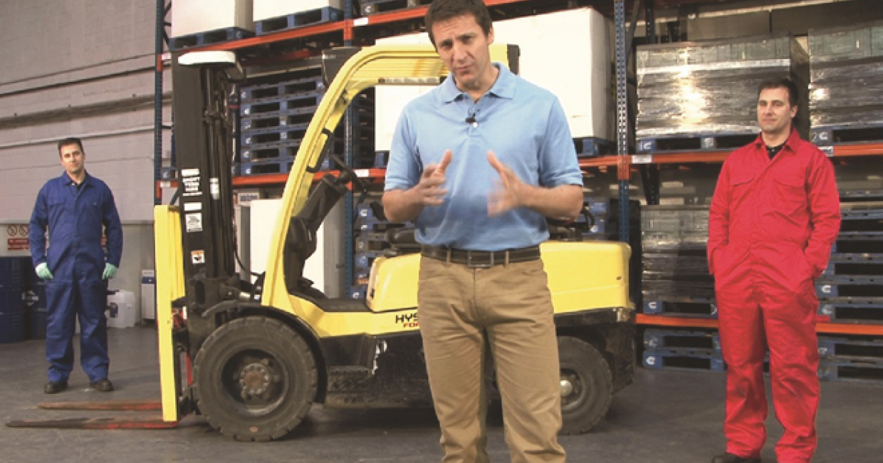 The eye-catching CFTS video campaign will warn fork lift truck managers of the dangers of Thorough Examination covering LOLER only