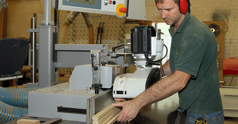 Martin 27 Flex fully programmable spindle moulder with quick change HSK shafts