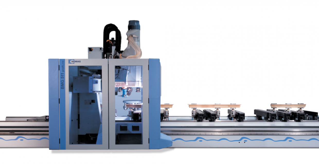 Five axis Homag BMG500 Series CNC processing centre