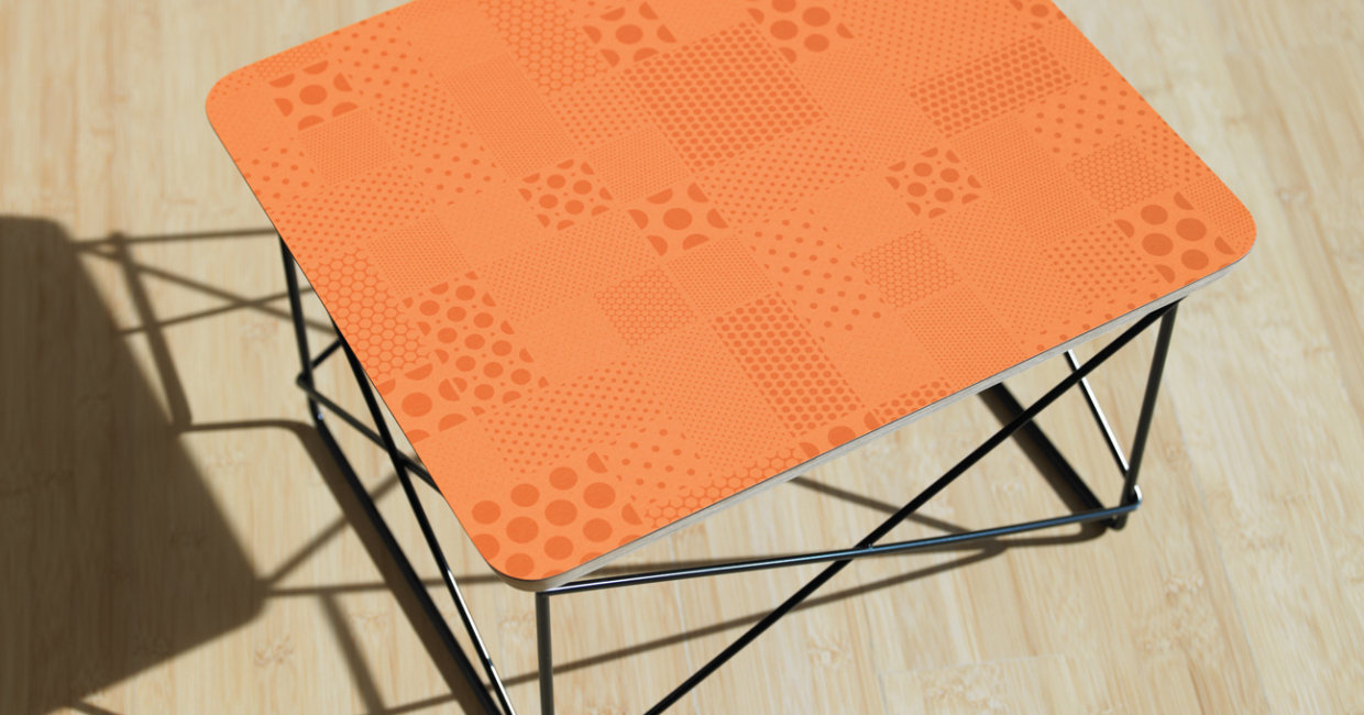6620 Tangelo Halftone – a soft orange