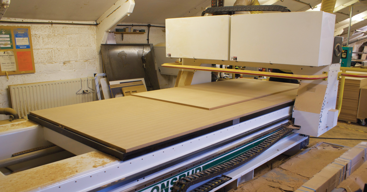 The Panel Pro at Knotty Ash has a 12 x 5ft bed