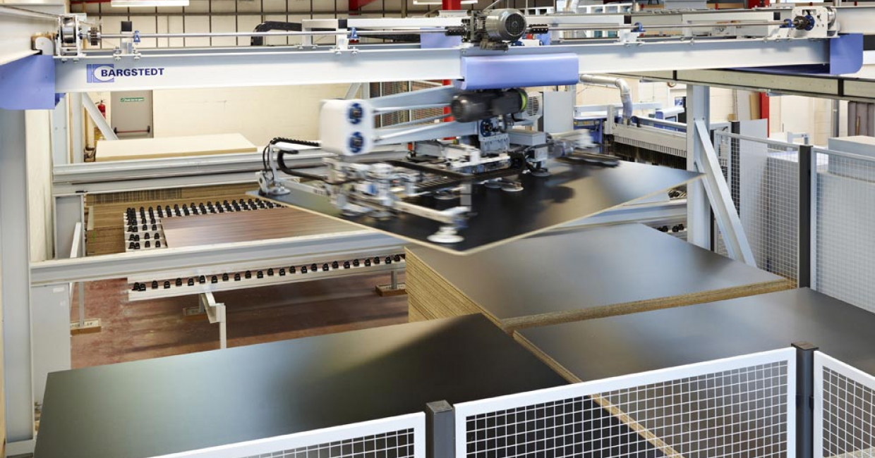The Bargstedt TLF 210 has maximised productivity, minimised downtime and saved floorspace for S W Watson