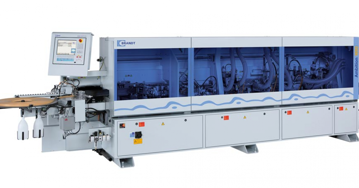 The Brandt edgebander Ambition 1600 FC has faster speeds for higher capacity requirements