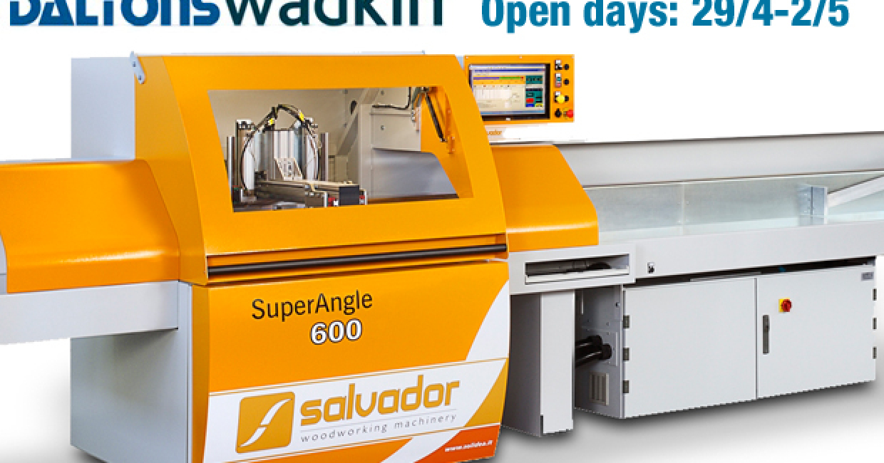 See a range of equipment at Daltons Wadkin open days 29/5-2/5