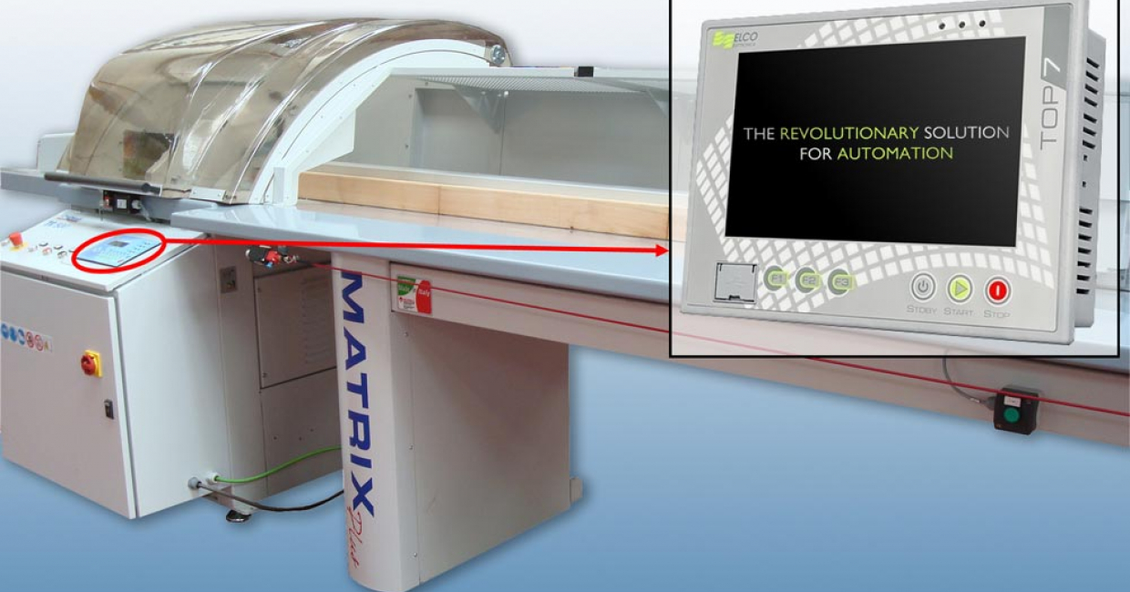 The all new ELCO Top 7 controller for Stromab Matrix range of automatic cross cut saws will be on demonstration at the exhibition