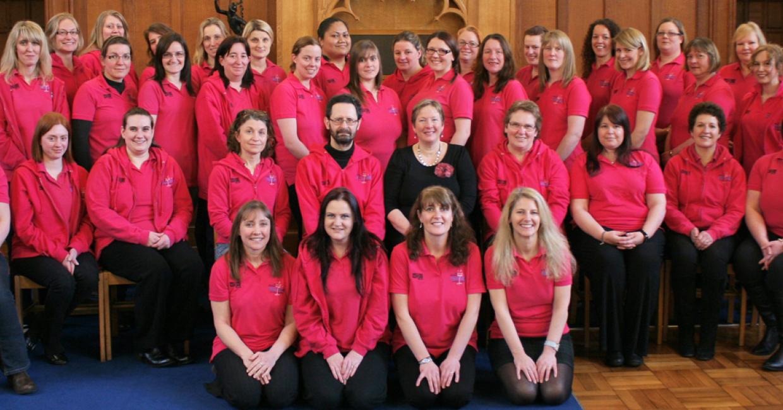 The Military WAGS Choir