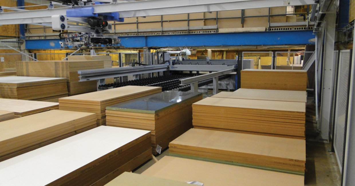 The Bargstedt storage system - automated stock control and retrieval at Chilfen Joinery