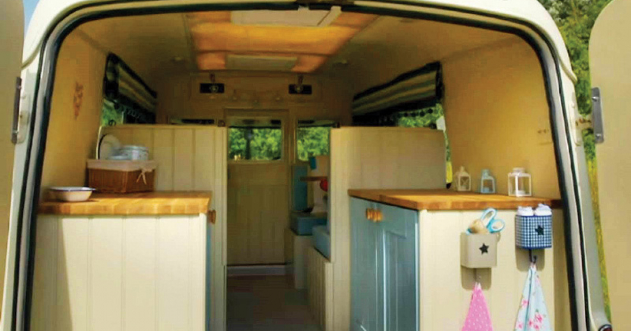 CJ Kitchens was a contractor to help 'Bertie' the ambulance get back on the road for Channel 4's George Clarke's Amazing Spaces