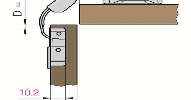 Bi-fold corner hinge