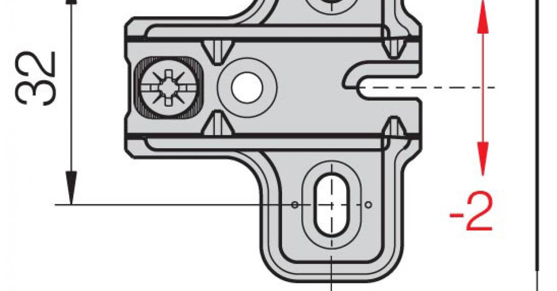 28mm cruciform hinge