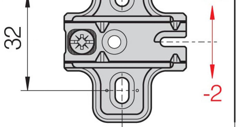 37mm crucifrom hinge