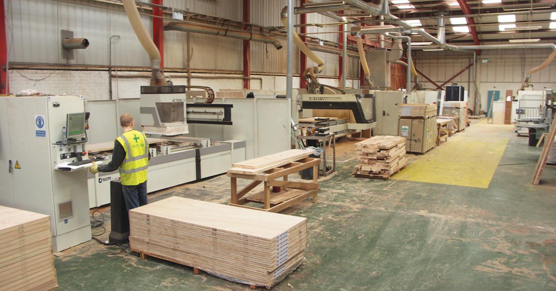 Five of Solidor's SCM CNC machining centres