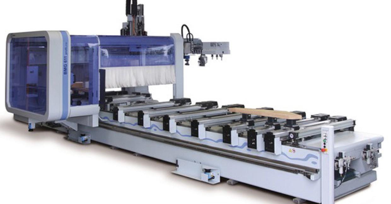 Five-axis Homag BMG 611 CNC at Taylor Made Joinery Interiors