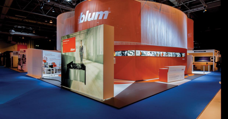 Blum UK's stand at KBB