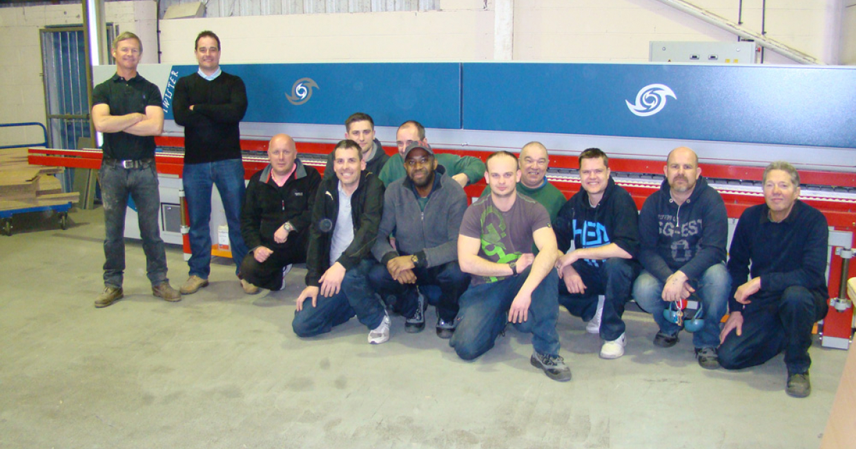 The team at Frontline Cabinets