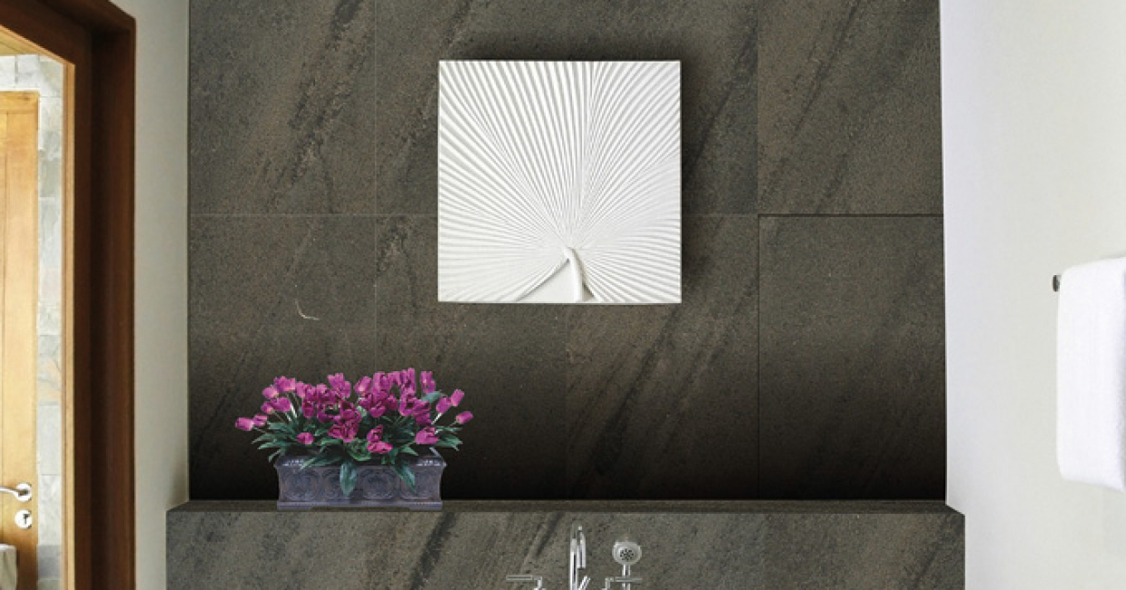 Allure range incliudes six types of real-stone laminate