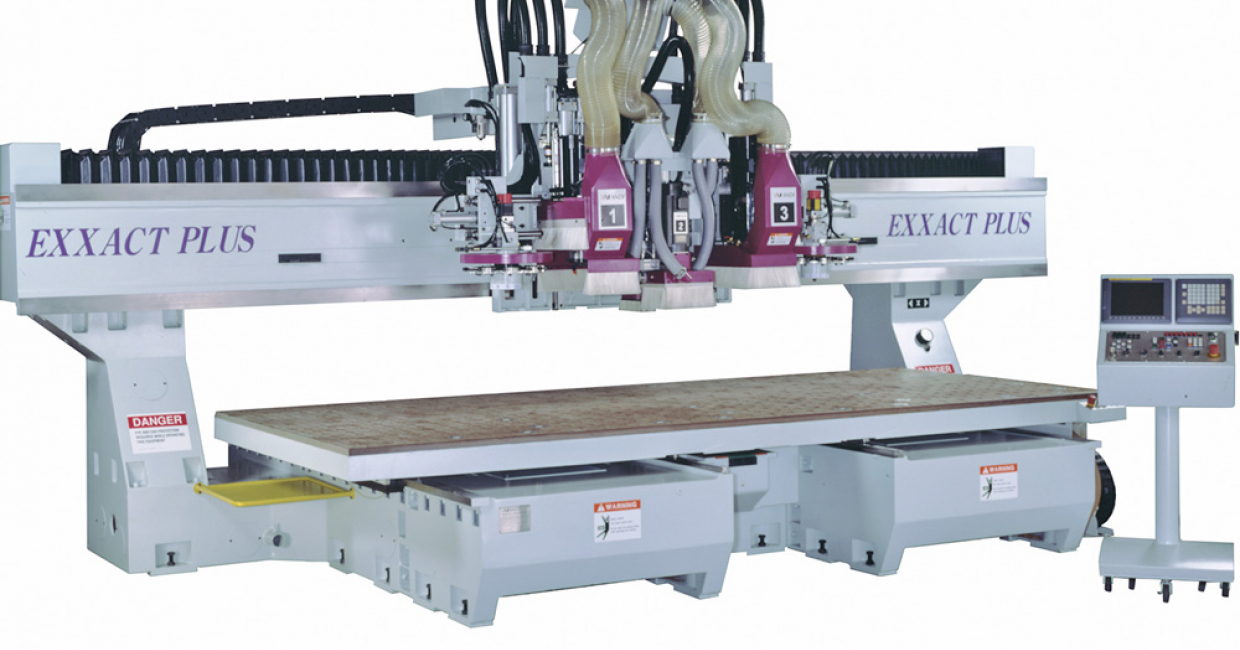 The Andi Exxact – a big step up to a fixed gantry, moving table system with a lot of five axis user options.