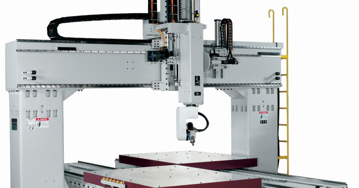 The Maxxis series moving table five axis machining centers set a new level of accuracy and machining performance. An ideal choice for machining plastics, aluminum and composites.