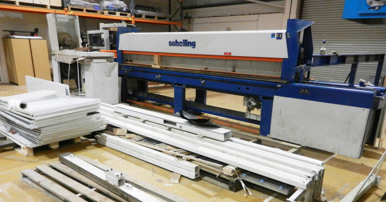 Adjacent to the new machinery showroom is an equally impressive space for used and refurbished machinery – for which Schelling UK says there is high demand