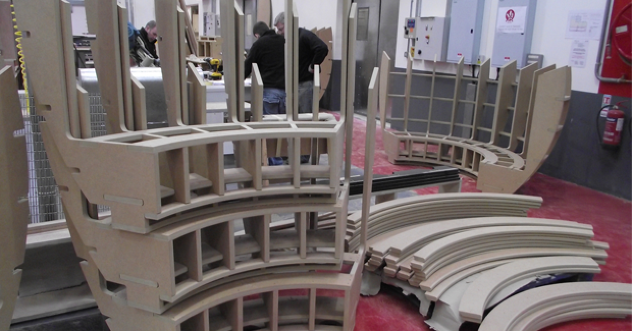 Specialist Joinery Group makes seating pods for the Lakeside Shopping Centre in Essex