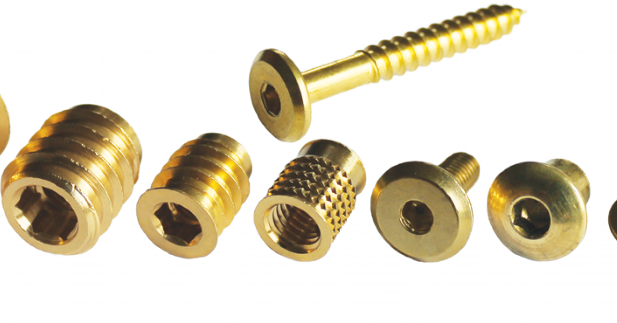 Brass inserts from The Insert Co Ltd