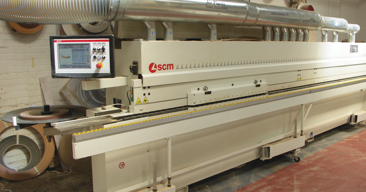 SCM S1000 T-ERL edgebander at Ridgeway Furniture