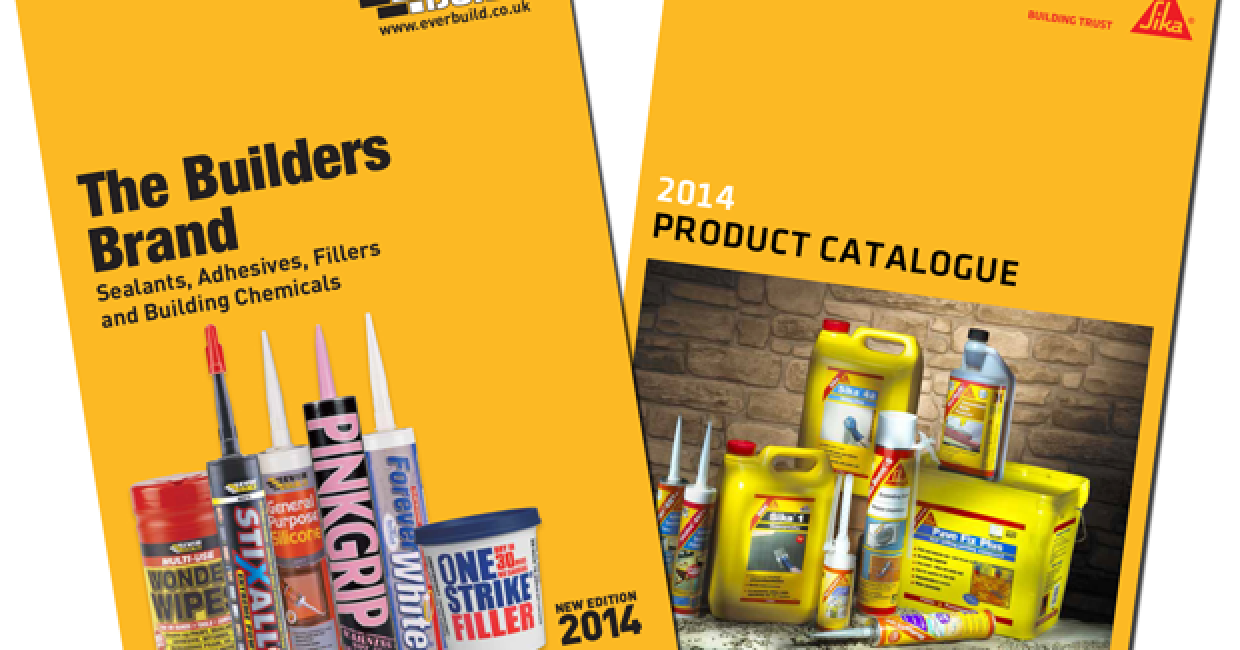 Sika Everbuild launches two new catalogues   Furniture