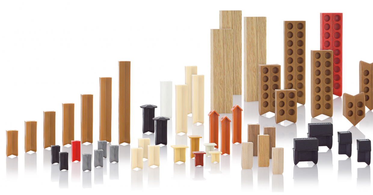 An array of jointing options from Hoffmann
