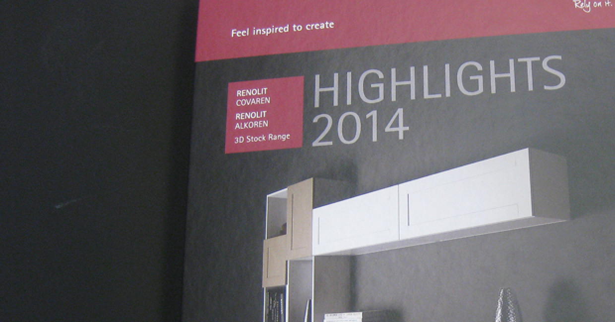 Renolit's new Highlights Collection Binder