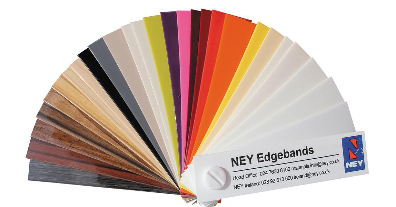 Sample Ney edgebands - it's easy to be a fan!