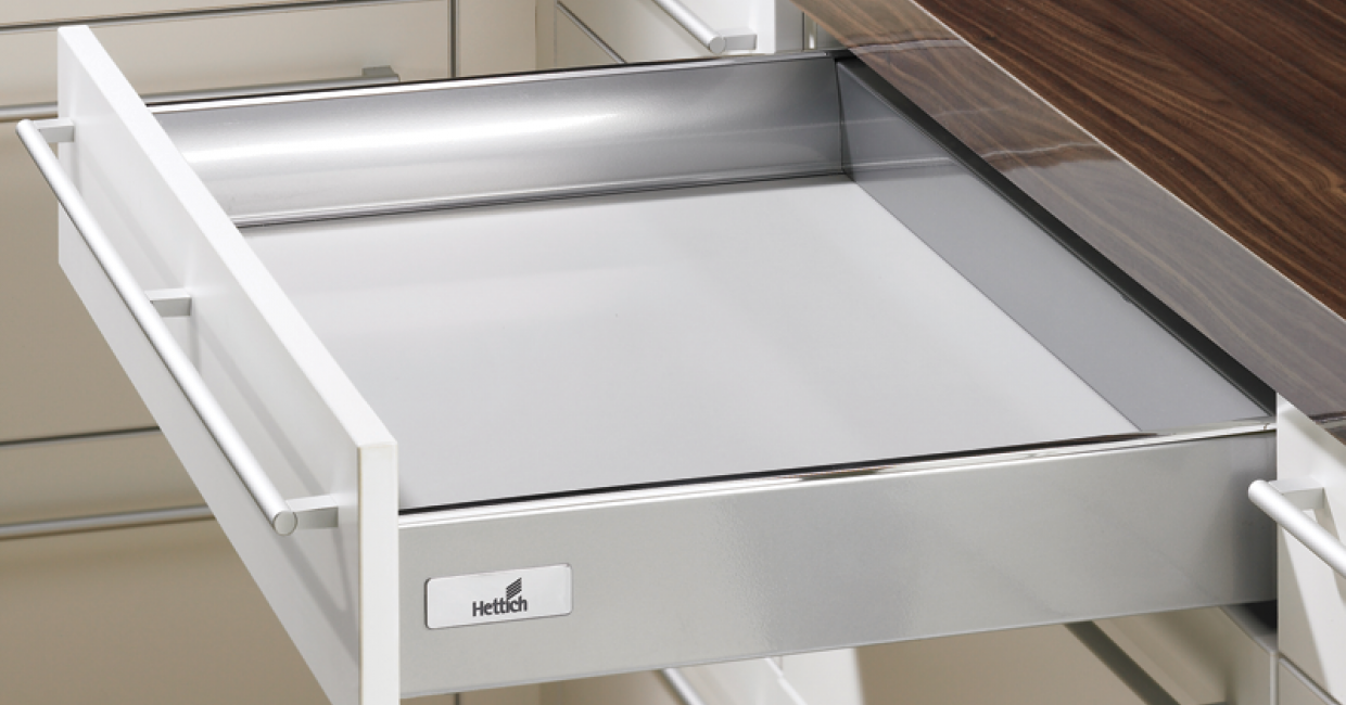 Ready-to-go Hettich drawer boxes