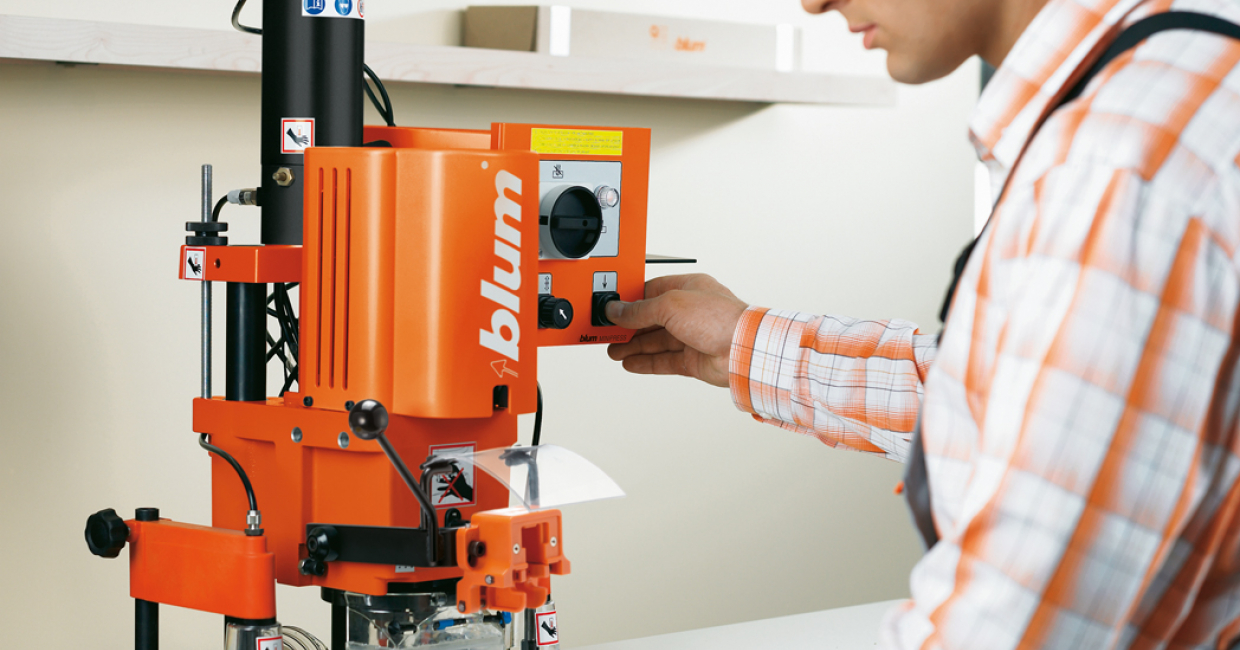 Blum will use W14 to demonstrate its jigs, machines and technical e-services