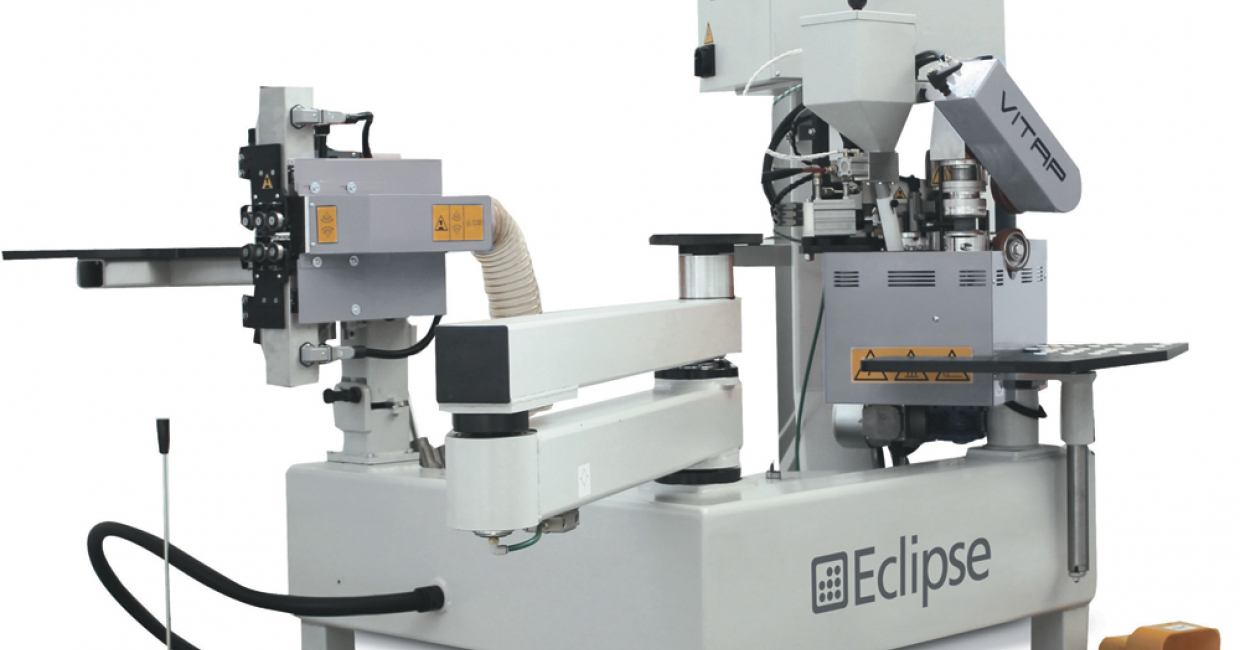 Machines like the Eclipse contour edgebander fit perfectly with Ney's offer to the smaller manufacturer
