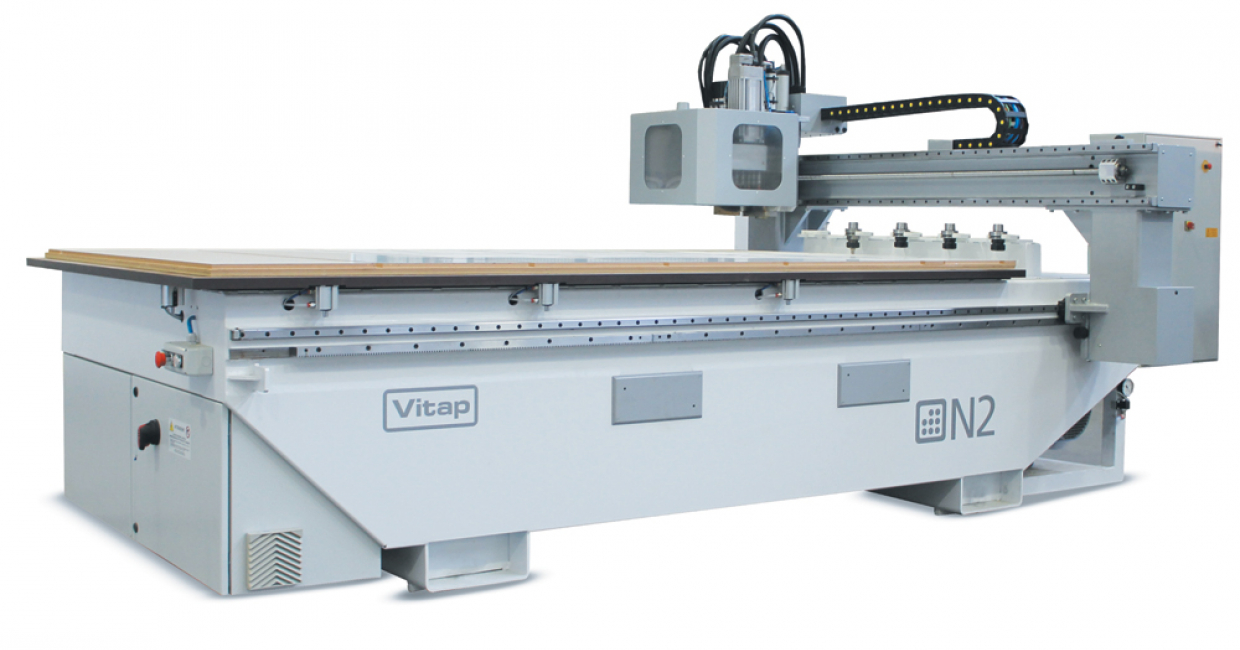 The N2 nesting machine is towards the top end of Vitap's range