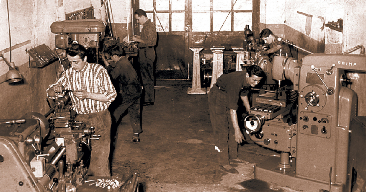 Vitap 1954: founded 60 years ago by two Italian engineers, Pietro Tanzini and Franco Viciani, Vitap originally manufactured grinding machines
