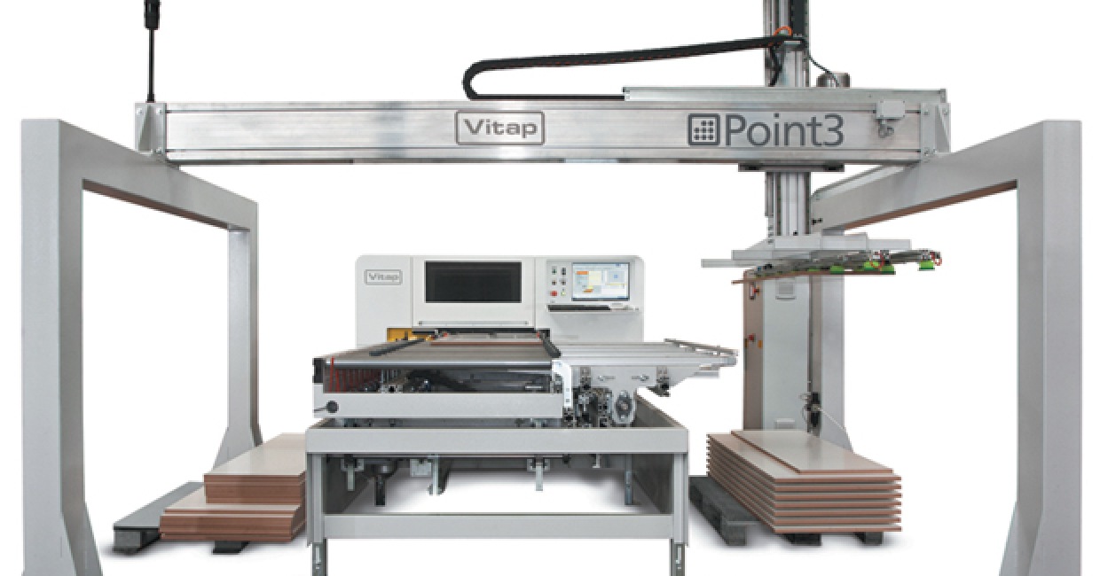 The new Vitap Point 3 offers accessible technology to the smaller manufacturer