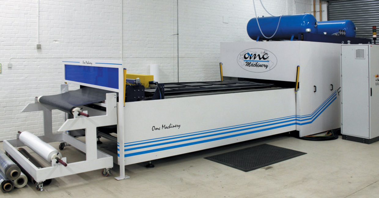 Designed for high-volume door production, the OMC Press offers a patented automatic pin system and laser sensor mapping for accurate results every time. Boasting a pressure of 372 tons, it can create a perfectly formed, high quality finish quickly and efficiently.