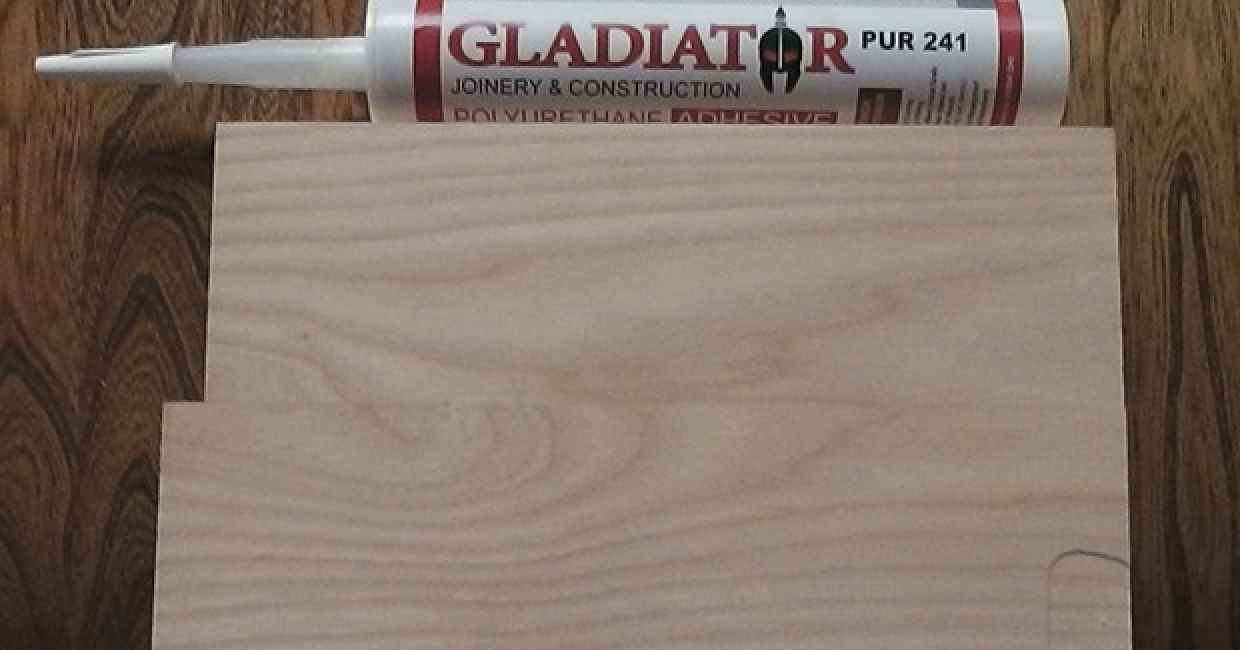 Super clean joints with Gladiator adhesive
