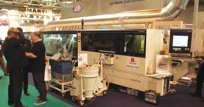 SCM Group's Stefani Laser line solution edgebander sold to Browns 2000