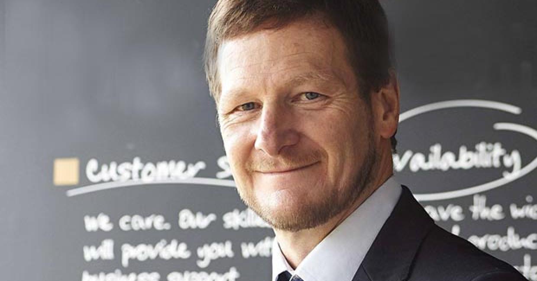 Julian Dudley, supply chain director at Bushboard