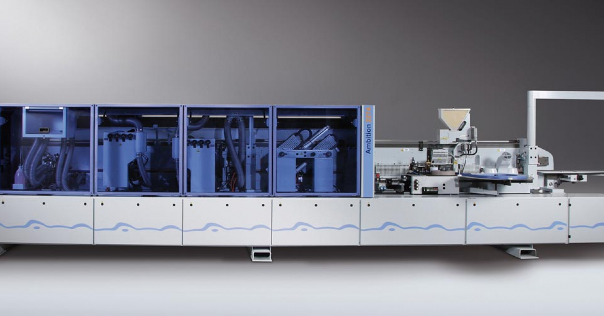 The Homag Ambition 2274 edgebander – improved productivity, variable feed speeds and total flexibility